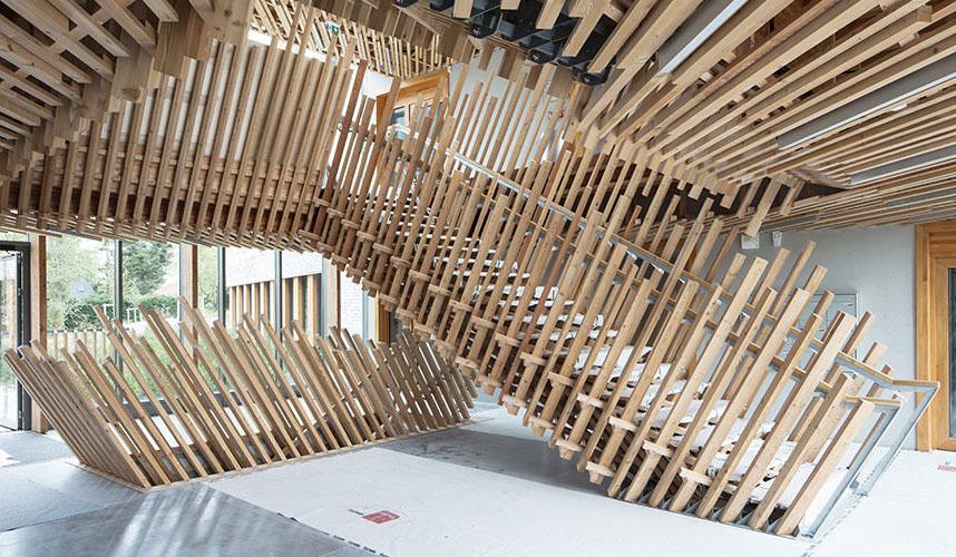 Escalier intérieur immeuble metronomy 1