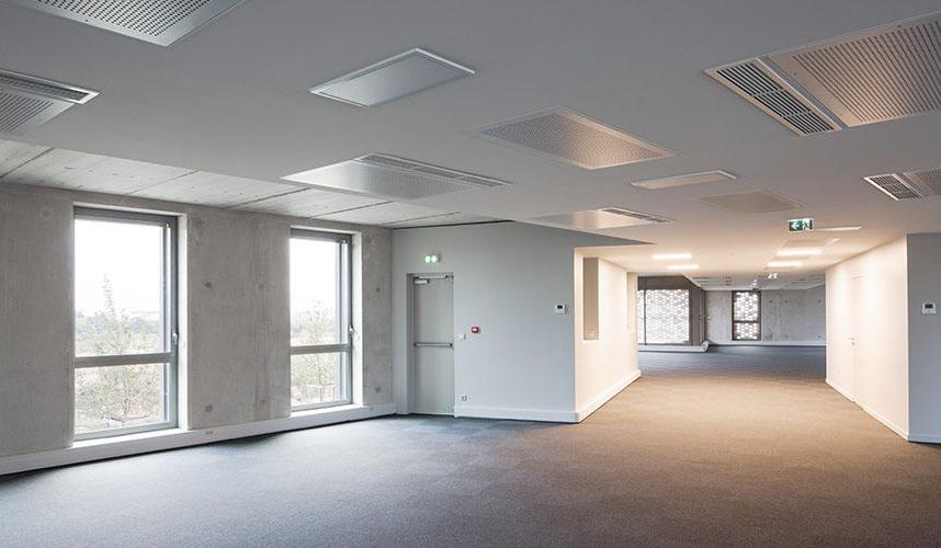 intérieur immeuble metronomy chantier