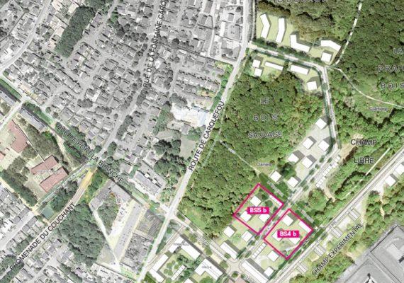 Au nord-est de Nantes : Un nouveau quartier accueillera ses premiers habitants d'ici 2021