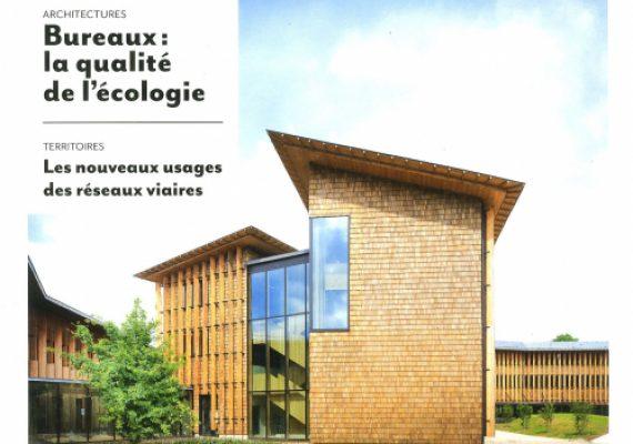Les bureaux de Tolefi à l'honneur dans la revue Ecologik