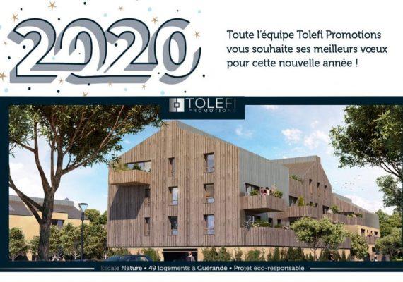 Voeux 2020 de l'équipe de Tolefi Promotions