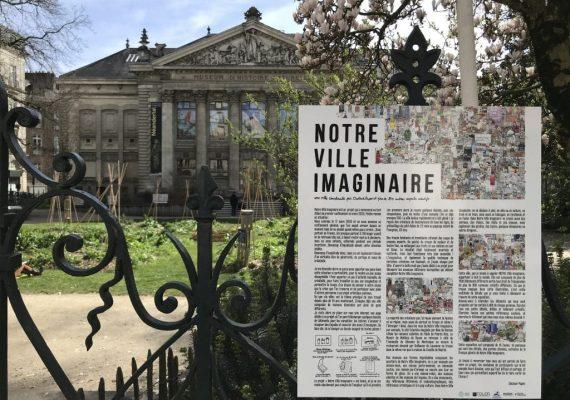 Début de l'exposition « Notre ville imaginaire » en collaboration avec l'artiste Dr Paper