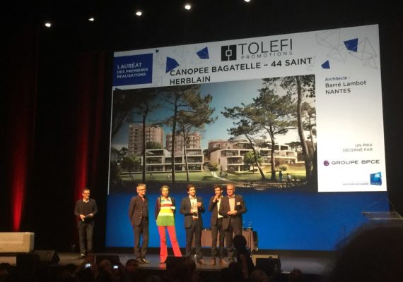 Canopée Bagatelle: Le projet récompensé par une Pyramide d'argent