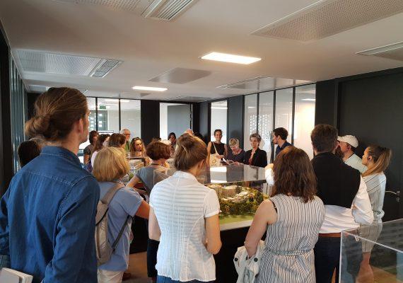 Visite de l'Association Régionale pour la Diffusion et la Promotion de l'Architecture (Ardepa)