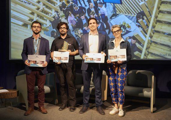 Tolefi reçoit le Prix Régional de la construction Bois 2018