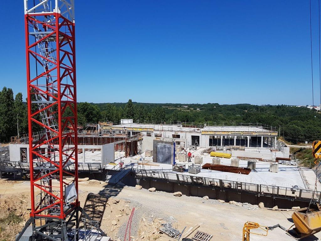 Le chantier de Metronomy Park