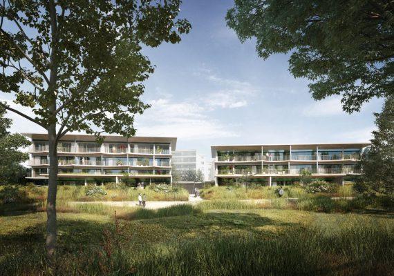 Concours d'architecture pour un projet de 25 logements