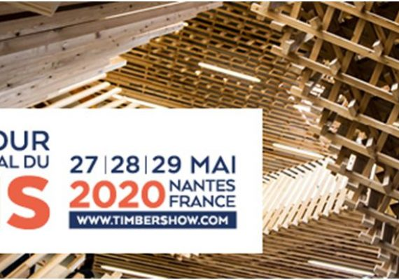 Escalier bois de Tolefi, emblème du Carrefour International du Bois