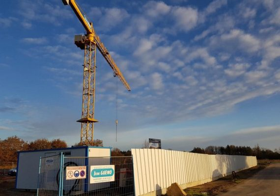 Début des travaux pour le programme Escale Nature à Guérande